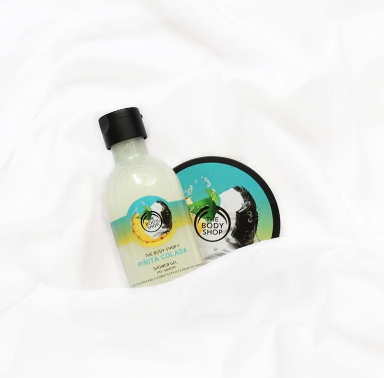 The Body Shop Pinita Colada Masło do ciała + żel pod prysznic