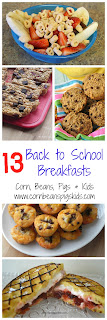 13 Back to School Breakfasts to help your family to get a good start for the school day from #Celebrate365 bloggers
