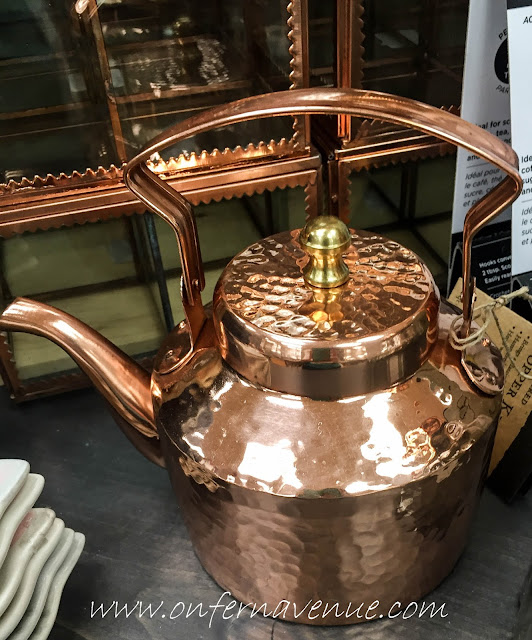 Cost Plus World Market Copper Tea Kettle