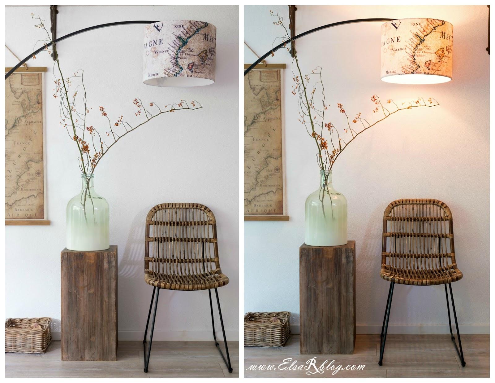 Lampenkap met eigen foto/ontwerp