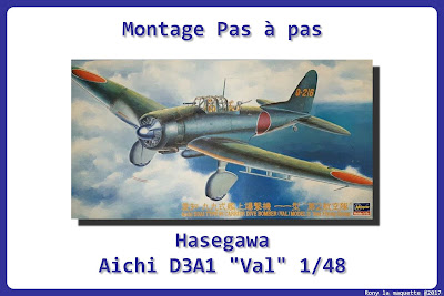 Montage Aichi D3A1 VAL Hasegawa 1/48