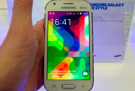 samsung, smartphone, Galaxy Ace Style, ponsel Kitkat