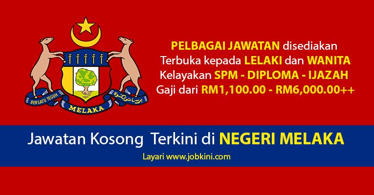Kekosongan Jawatan di Negeri Melaka