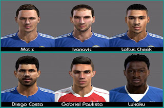 Facepack Premier League Pes 2013 by Green
