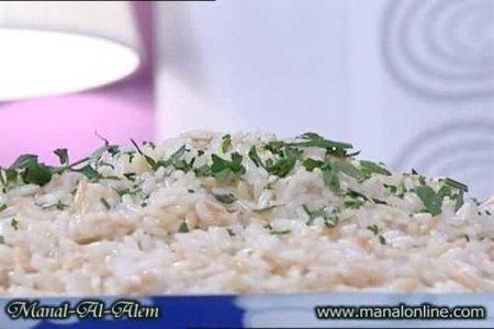 الأرز بلسان العصفور من مطبخ منال العالم