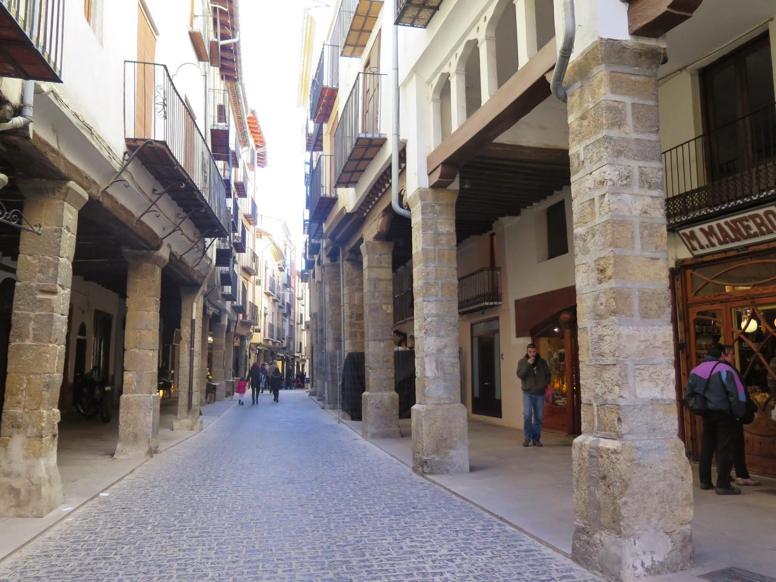 Morella calle principal
