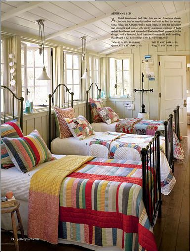 Hydrangea Hill Cottage Chic Kids Guest Rooms