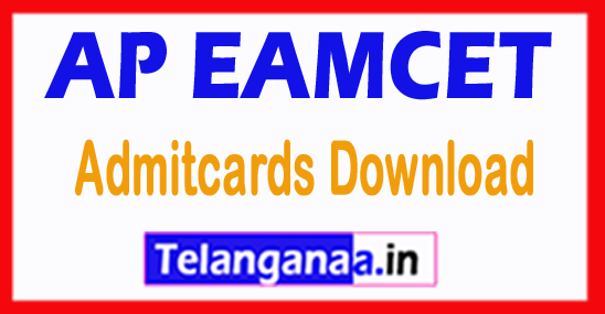 Andhra Pradesh AP EAMCET APEAMCET 2018 Admitcards Download