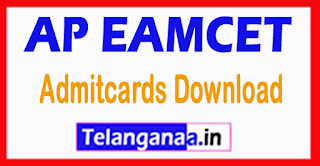 Andhra Pradesh AP EAMCET APEAMCET 2017 Admitcards Download