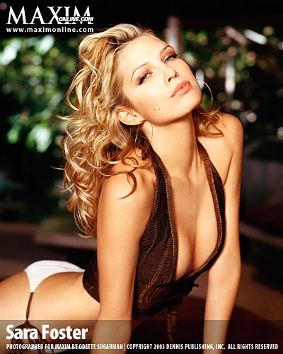 Very valuable Sara foster naked pics useful piece