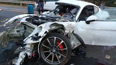 Vítima de acidente com Porsche postou vídeo horas antes de batida que matou dois em rodovia