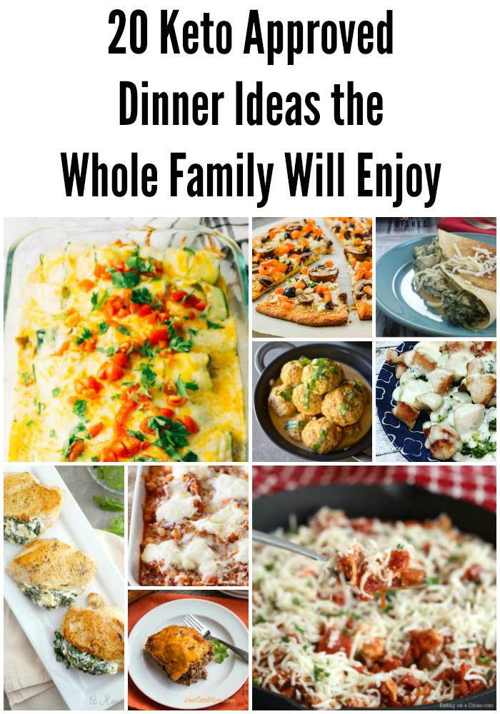 Keto Family Dinner Ideas
