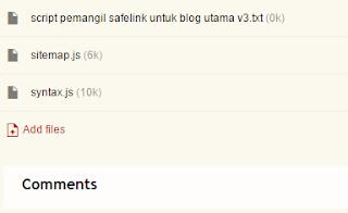 Cara Upload File JavaScript, CSS dan Asset Web ke Google Site