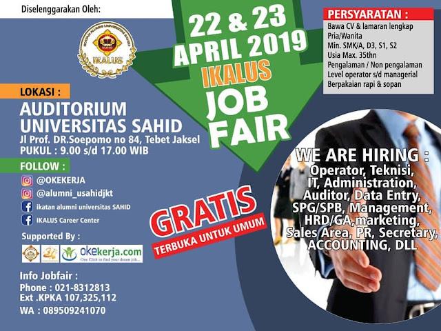 Job Fair Ikalus Jakarta Selatan