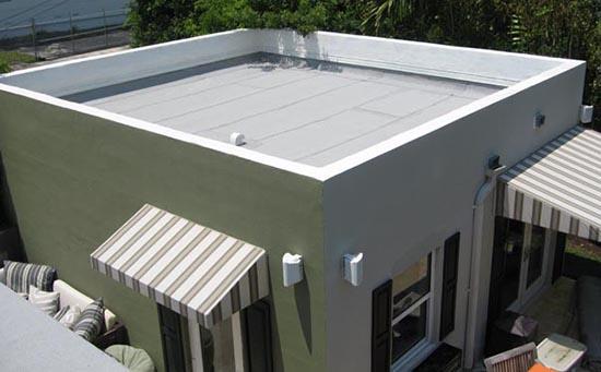 desain atap minimalis