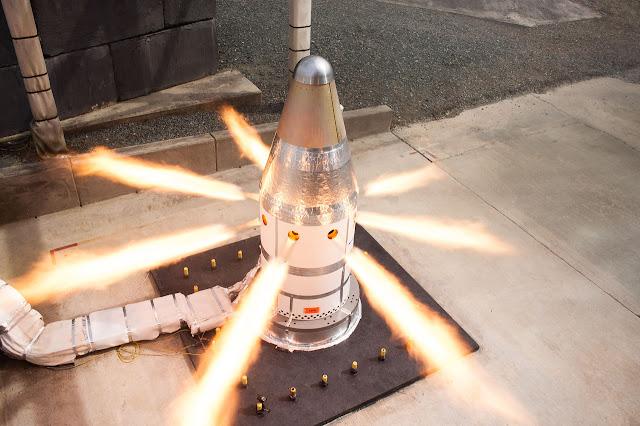 Ракета Orion запускає тест системи гарячого загоряння двигуна
