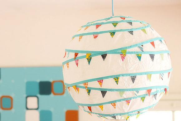 estas lmparas de papel son ideales para el dormitorio de los chicos ya que son decorativas y prcticas sabemos que cuando decoramos la habitacin