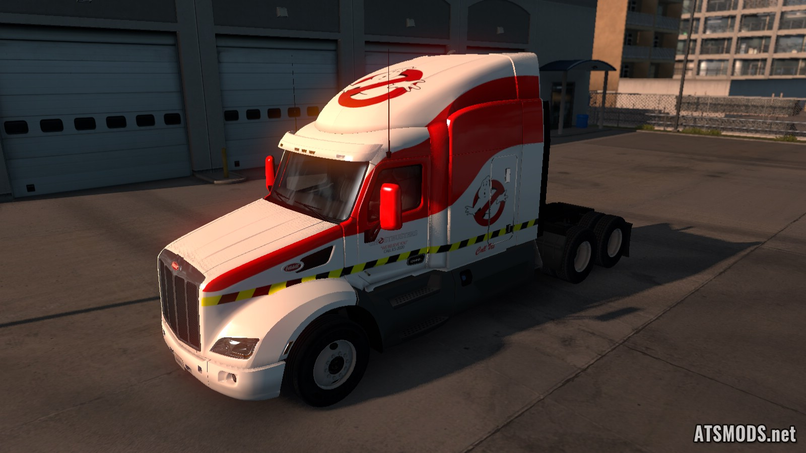 GhostBusters Skin for Peterbilt 579
