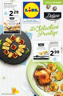 Offre des catalogues promotionnels Lidl 29 Mars au 04 Avril 2017