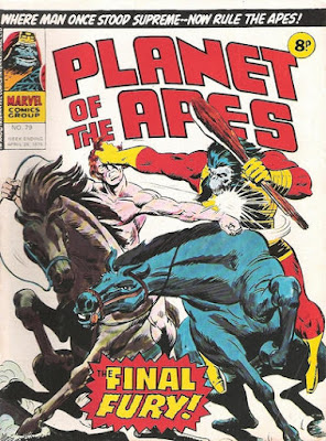 Marvel UK, Planet of the Apes #79