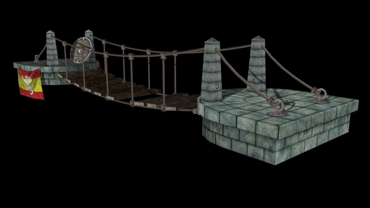 Max Ashby's Art Blog: 3D Animation - Maya - Bridge - Final Render