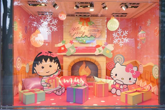 DSC08300 - 台中聖誕節活動│小丸子 hello kitty摩天輪與聖誕村造景就在台中新光三越搶先看