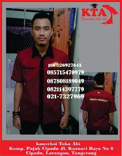 Cari Penjahit Seragam Kerja Karawaci, Cimone, Ciledug, Cipondoh, Batu Ceper Tangerang