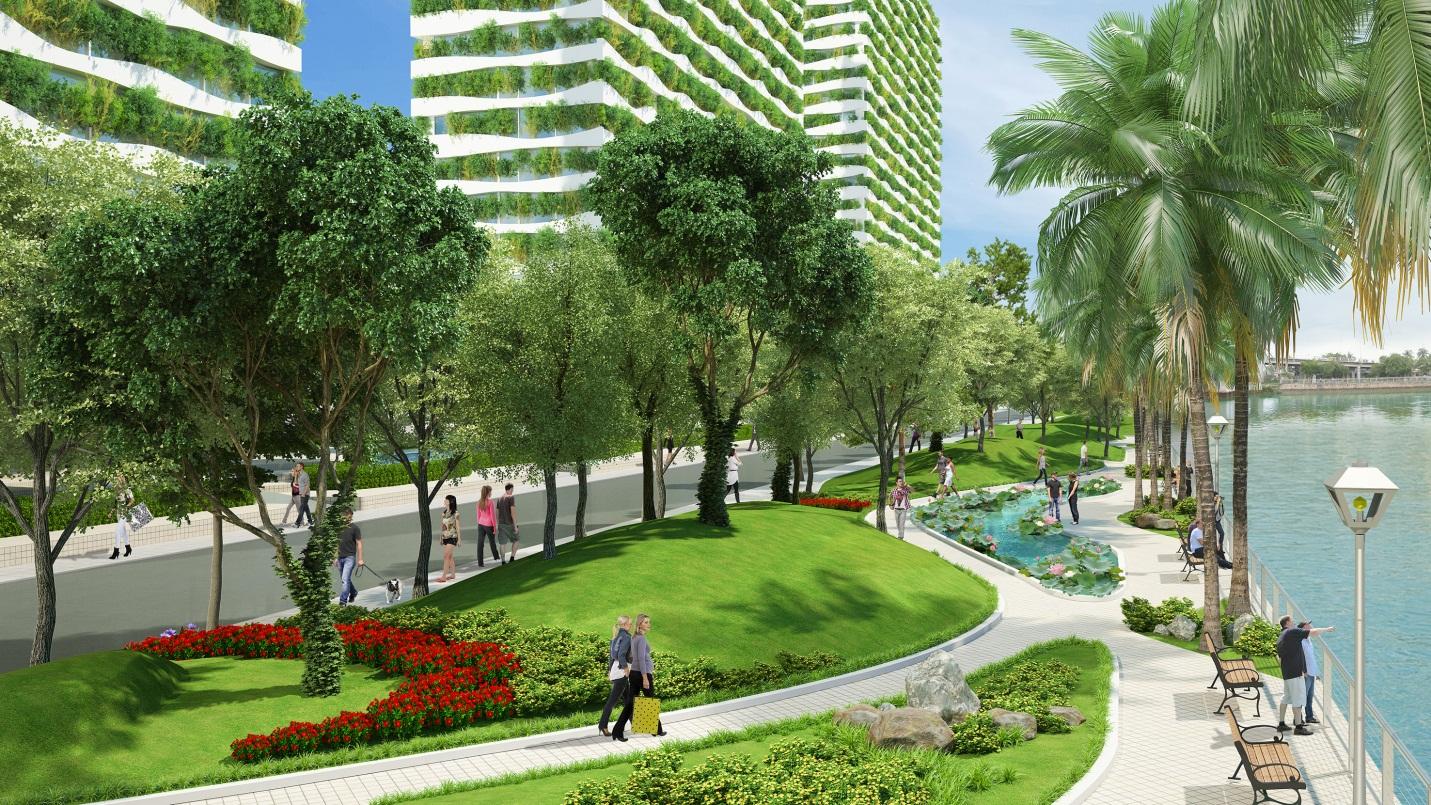 dự án Diamond Lotus Green World