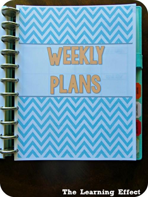lesson planner