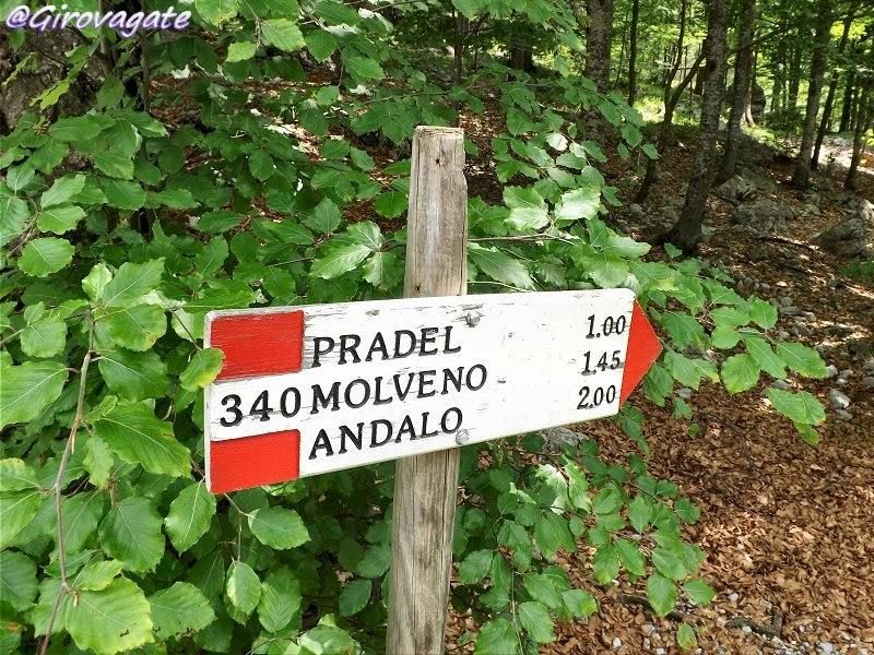 sentiero 340 dolomiti brenta