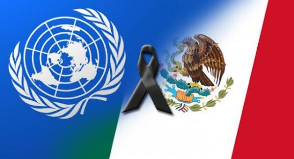 La ONU acusa que México se niega a que sus expertos entren al país