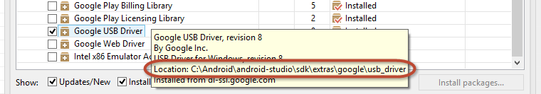 Installing Android ADB driver in Windows 8 1 64-bit when all else