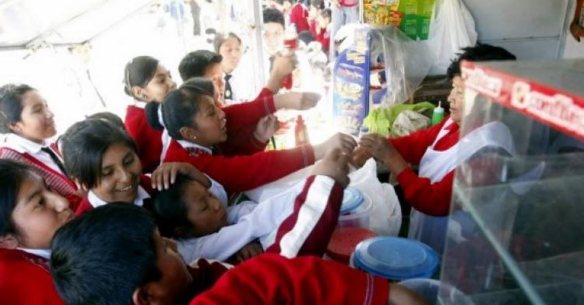 Colegios venderán solo alimentos saludables, sin golosinas desde este año, informó el MINSA - www.minsa.gob.pe