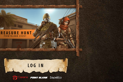 Script Phising Point Blank Garena Indonesia Treasure Hunt True Login