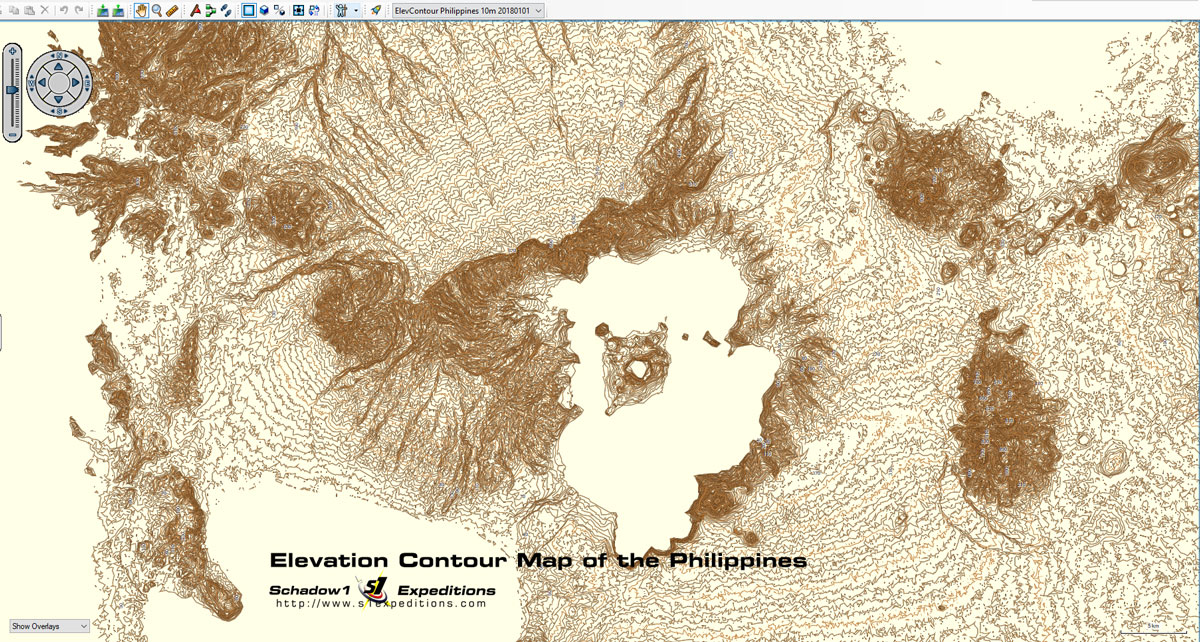 Gps Elevation Map.3d Terrain Gps Navigation Map Of The Philippines Newest Gps Maps