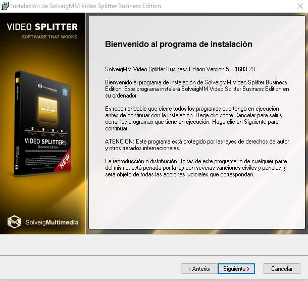 SolveigMM Video Splitter Version 5.2 Full Español