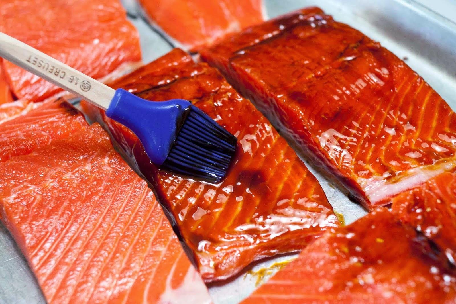 Teriyaki Grilled Salmon