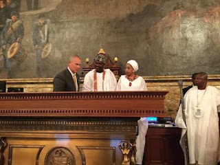Ooni of Ife, Oba Ogunwusi recognized by US lawmakers