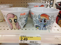 MLP Store Finds: US - MLP Plates, Bowls and Bottles