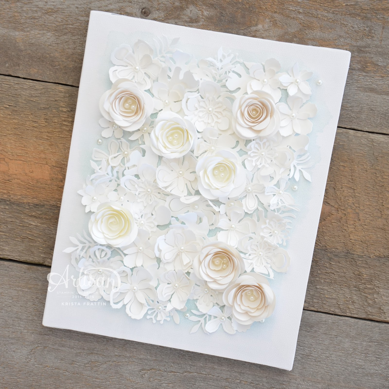 Stampin dolce dolce spring retreat paper flower canvas dolce spring retreat paper flower canvas mightylinksfo