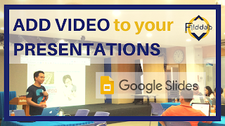 Make Google Slides Presentations EVEN better by adding Video!