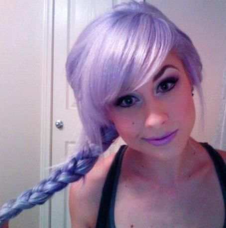 Brilliant Lavender Hairstyles The Haircut Web