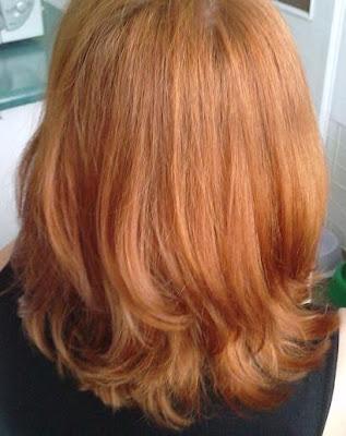 Wasze włosy u Mysi. Rudy dla Pani Marzenki