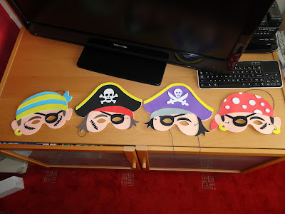 Yellow Moon Pirate Masks