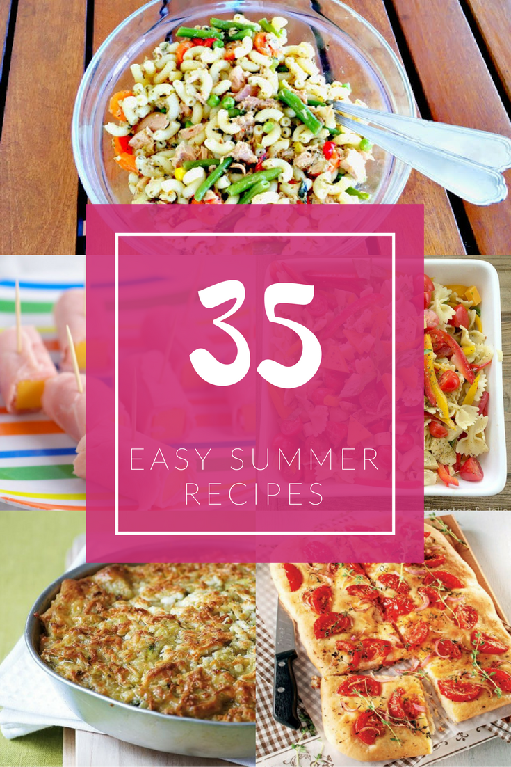 Quick and easy summer recipes
