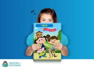 Faça parte do O Show da Luna! com a criação de um livro personalizado para crianças