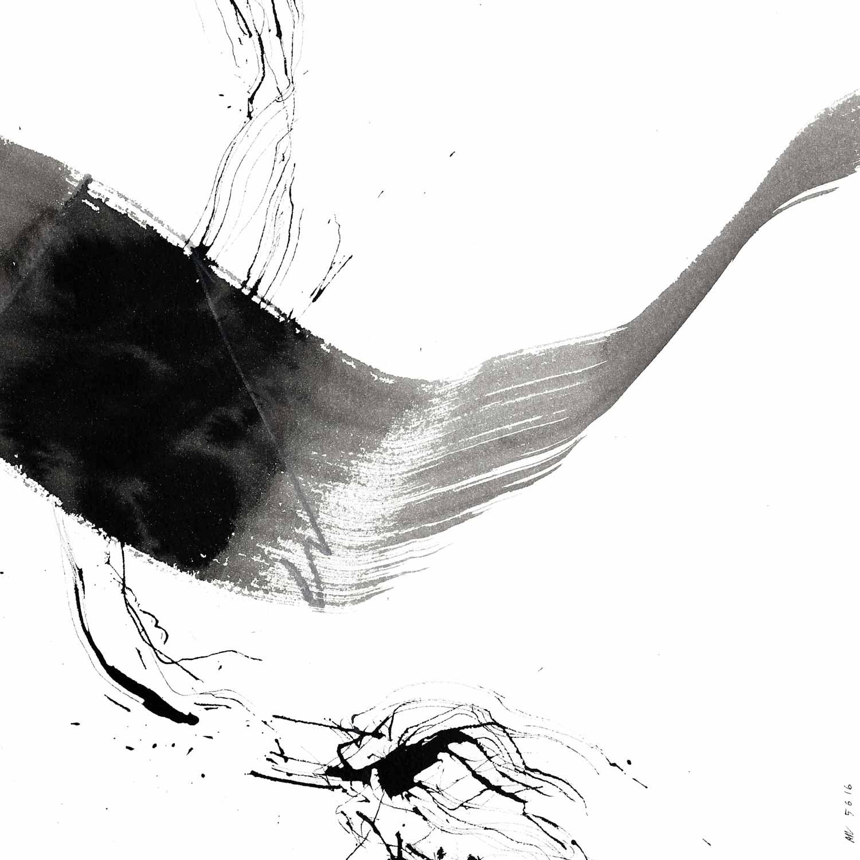 Annik Reymond - encre de chine et lavis sur Arches