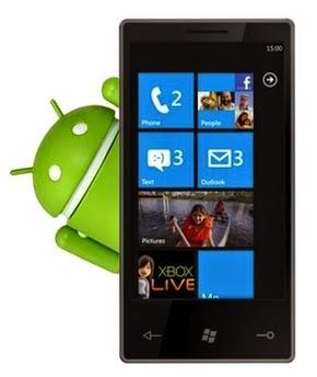 windows phone android app