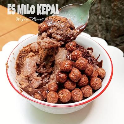 Resep Es Kepal Milo Enak Ala Rumahan By @dapurwafda