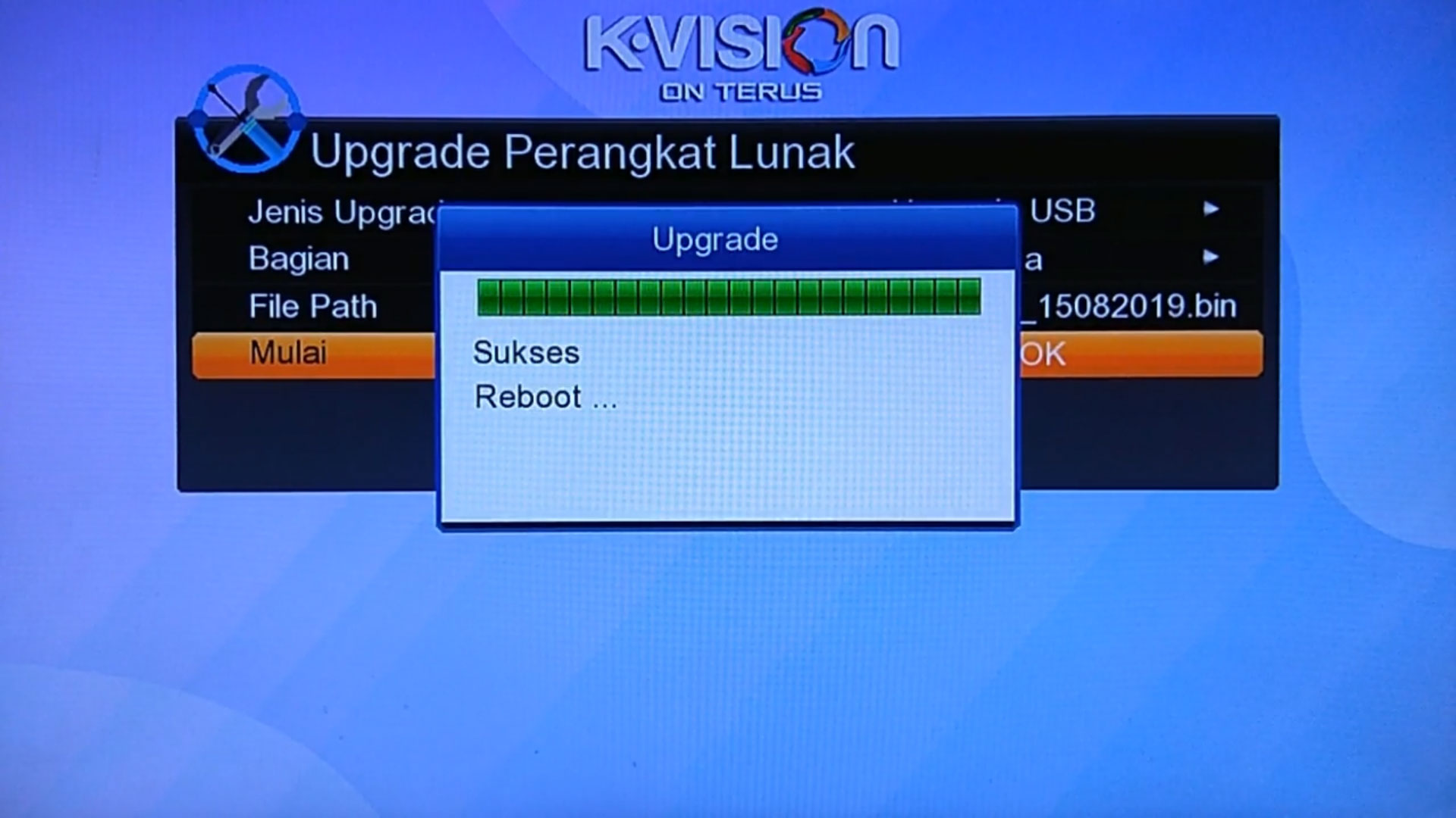 Cara Upgrade Lgsat Stars 101 HD New GuoXin